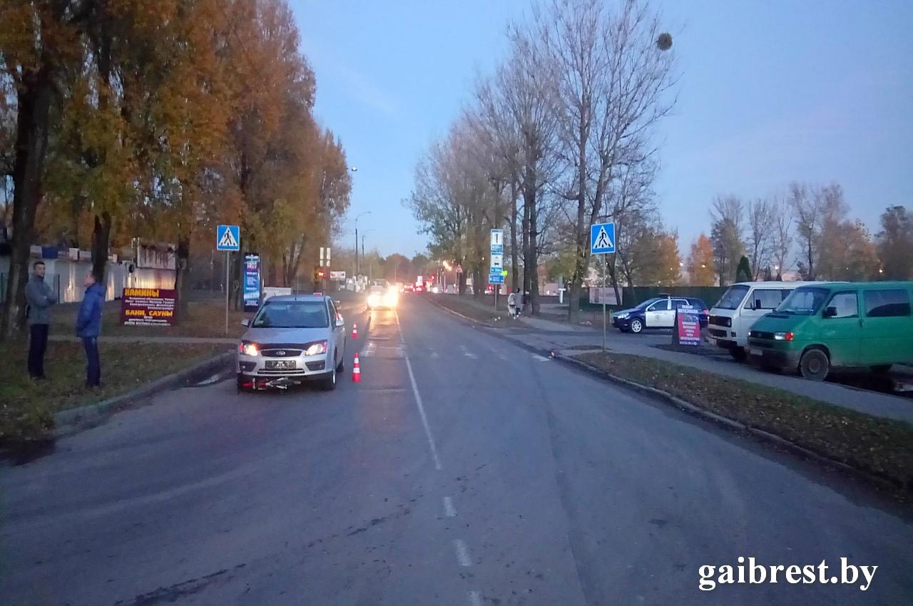 На ул.Красногвардейской водитель сбил 9-летнего мальчика