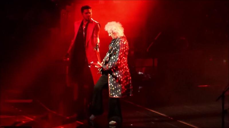 Queen Adam Lambert - Tie Your Mother Down - Oslo 180617