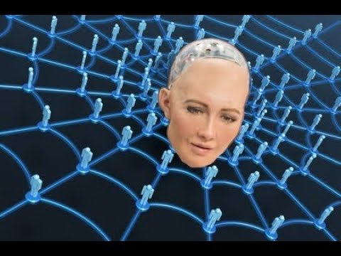 SOPHIA the A.I. speaks on OUR FUTURE, Time Travel, Mark of Beast RFID wifi NEURAL IMPLANTS