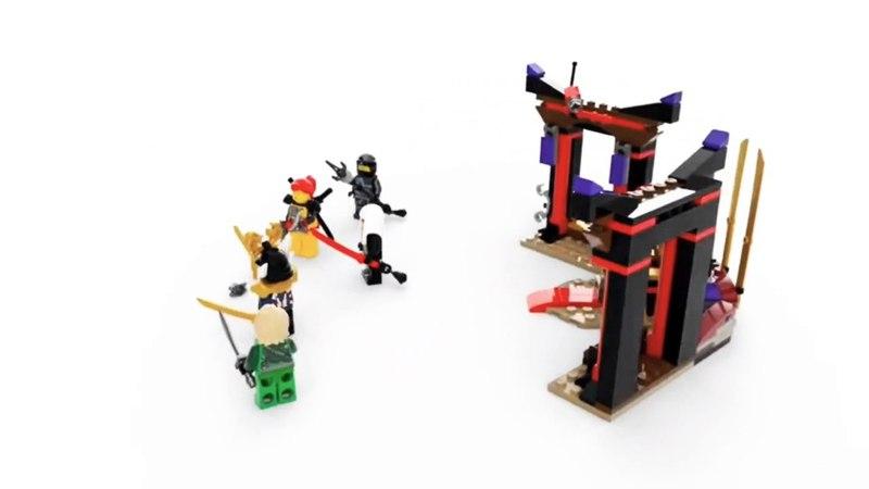 Lego Ninjago Season 9 Sets in 360 Animation