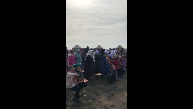 Түпқараған Сайын ауылы мен Ақшұқыр ауылы! Амал 2018 (1-видео)