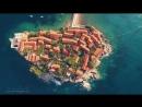 Best of all Montenegro Budva Kotor travel drone aerial - Вся Черногория Будва Котор с высоты