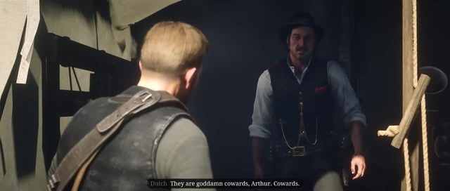 Red Dead Redemption 2 - Arthur Insists John Marston His Family Leave The Gang, Dutch Gets Angry
