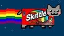 Eating skittles on the moon