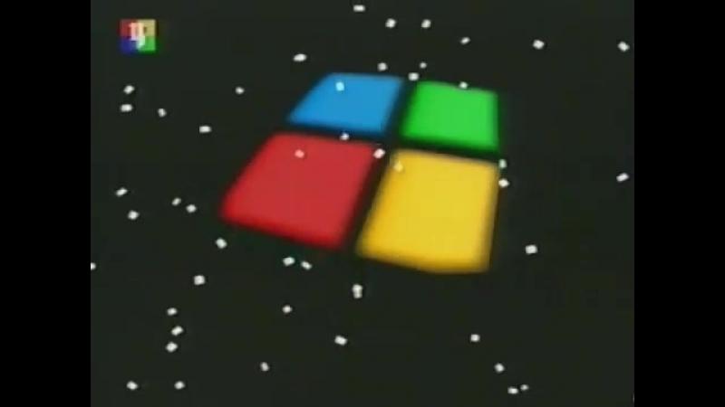 Заставка начала и конца эфира (ТВЦ, зима 2004-2005; 2005-2006)