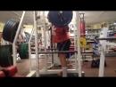 20.07.18. Друзья ,всех с добрым утром ! Приседание, легкая тренировка объём 7000 кг 140/ 10х5!