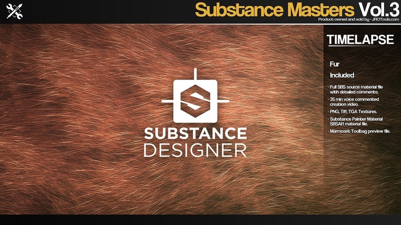Substance Masters - Fur Time-Lapse