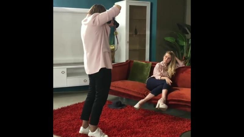 Дарья Рогова в гостях у Элекс мебель