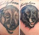 Пост, который доказывает, что любую неудачную татуировку можно превратить в маленький шедевр…