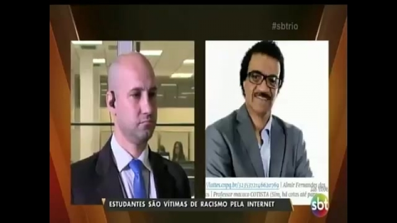 SBT - Delegado Marcos Motta fala sobre o caso de racismo contra alunos da Universidade Unicarioca