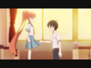 Ueno-san wa Bukiyou 1 серия русская озвучка Xelenum / Неуклюжая Уэно 01