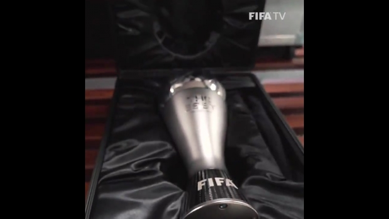 The Best award arrives 24/09/18 TheBestFIFA2018
