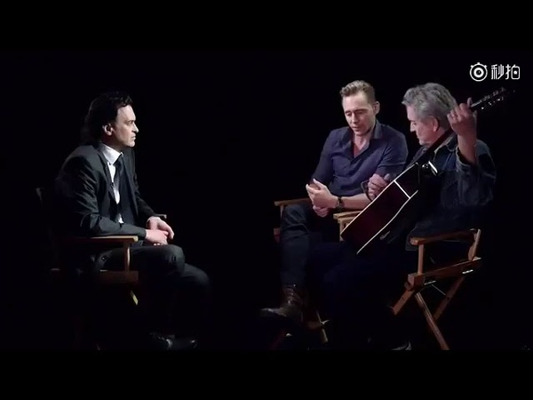 Tom Hiddleston singing - I'm so lonesome i could cry..