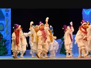 Театр танца Кредо Ёлочки и снеговики