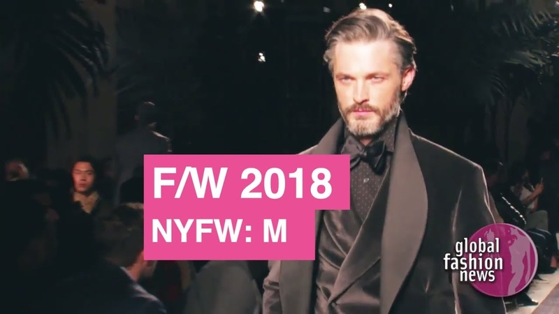 Joseph Abboud Fall/Winter 2018 Men's Runway Show | Global Fashion News