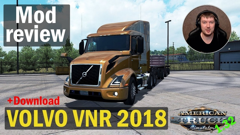 ATS 1 32x MODS|VOLVO VNR 2018|Обзор Модов American Truck Simulator