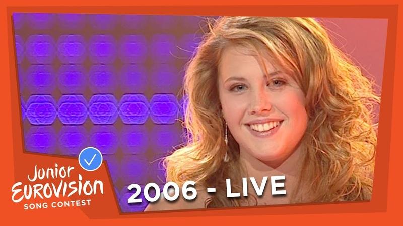 Molly Sandén - Det Finaste Någon Kan Få - Sweden - 2006 Junior Eurovision Song Contest