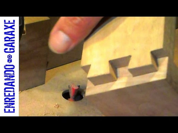 How to cut dovetail joint with the router table