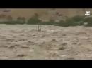 """شاهد كيف حول إعـ ـصـ ـاار ميكونو صحراء الربع الخالي إلى بحيرة """"الربع المليان"""""""
