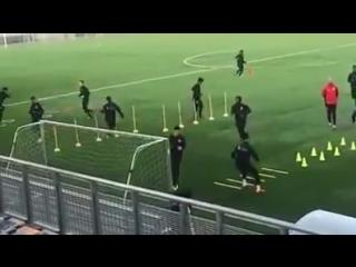 Футбольные упражнения на скорость и координацию