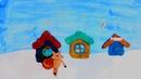 Свинка Пепа раздает подарки|открытка поздравления |Ян Деяк Вова Малькевич | Сквирел | МультСтудия Ак
