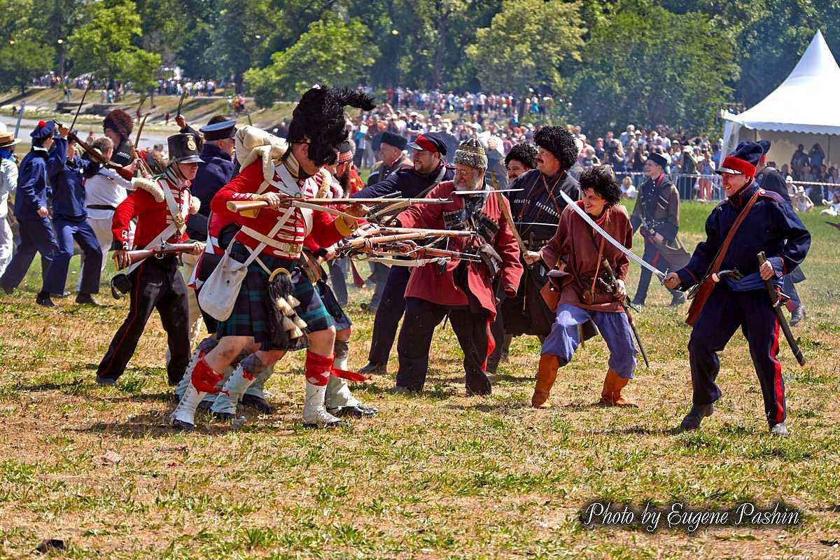 Фестиваль «Оборона Таганрога 1855 года» посетили более 45 тысяч человек
