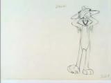 Ken Harris - Bugs Bunny - Pencil Test