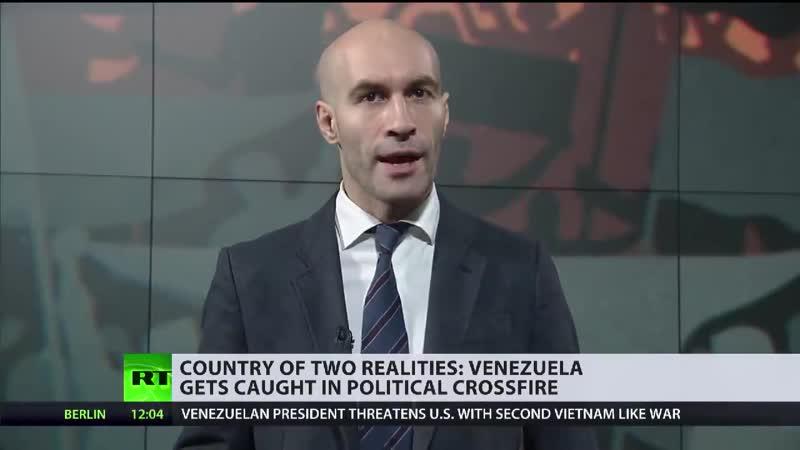 NIEMAND HAT DIE ABSICHT DIE DEMOKRATIE NACH VENEZUELA ZU BRINGEN ES GEHT NUR UM BODENSCHÄTZE