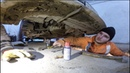 Марсельское Такси, трещина в поддоне, меняю генератор на калине спорт, не чини пока работает