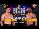 Cezar Ferreira (186) vs Karl Roberson (185)