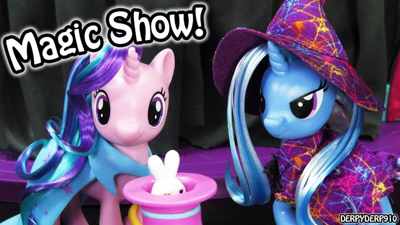 My Little Pony School of Friendship Starlight Glimmer, Trixie, Applejack! MLP Toy Review Skit