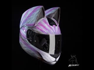 Neko helmet by nitrinos