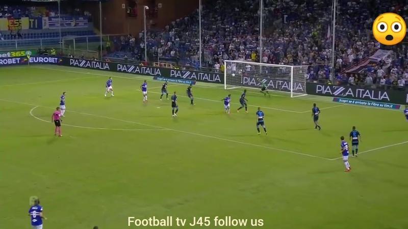 Fabio quagliarella unbelievable goal against Napoli..... Фабио Куарьярелла супер гол ворота Наполи