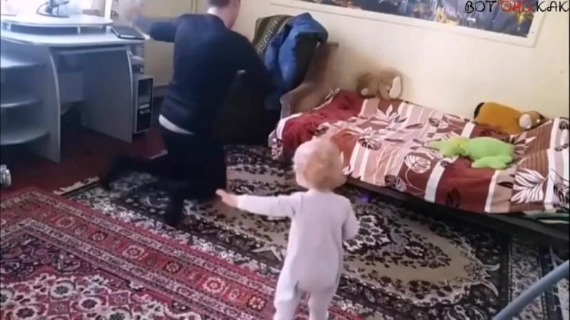 Мама установила скрытую камеру😊