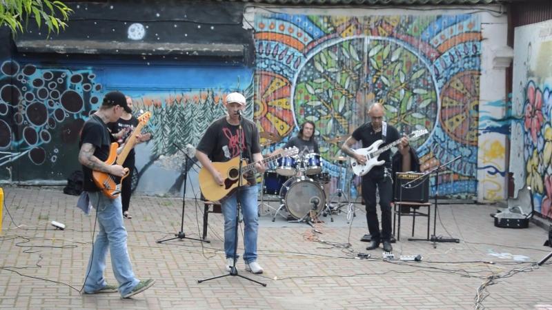 Блюз-рок бэндСкрытые Мотивы-на душе