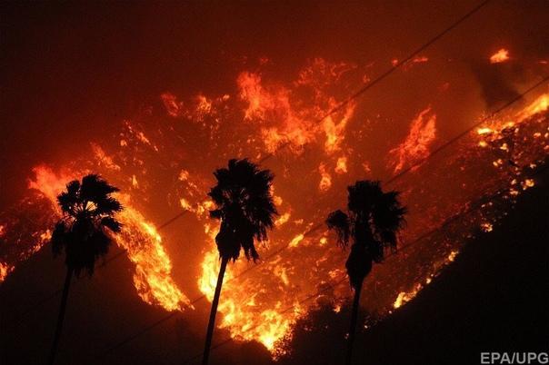 Калифорния в огне.