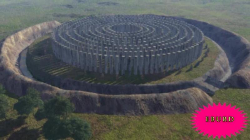 Wer erbaute die Avebury Steinkreis Megalithen und Stonehenge