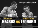 Шугар Рэй Леонард - Томас Хирнс Sugar Ray Leonard vs Thomas Hearns 16.09.1981