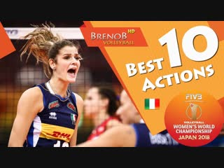 Top 10 best actions by cristina chirichella. womens wch 2018