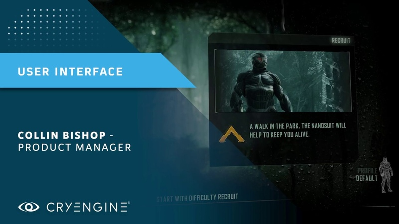 CRYENGINE Master Class   Creating a User Interface using Scaleform