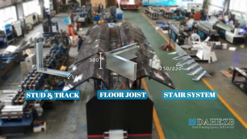 Dahezb Forming Light Gauge Steel Framing Machine