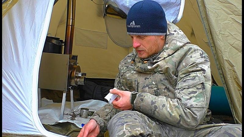Зимняя рыбалка с ночёвкой. ВОЙ ШАКАЛА У ПАЛАТКИ. Ловля белой рыбы на засолку. Жерлицы на щуку.