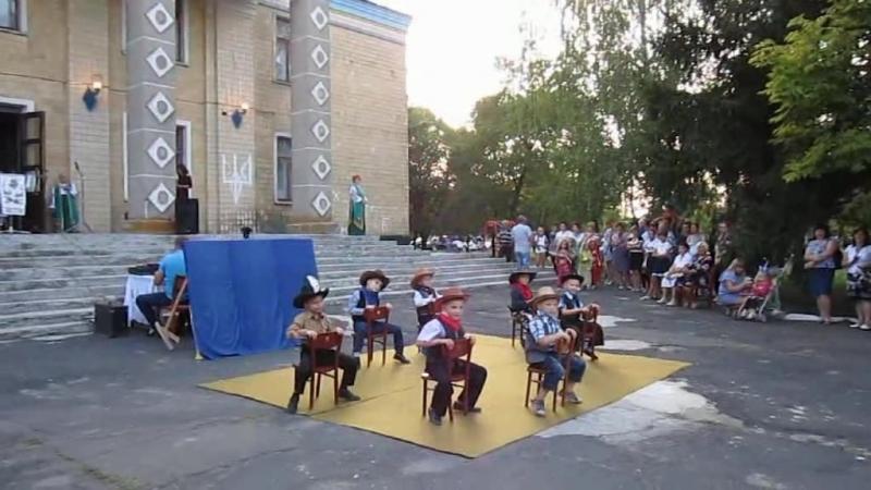 Детский сад КАЛИНКА (танец ковбоев)