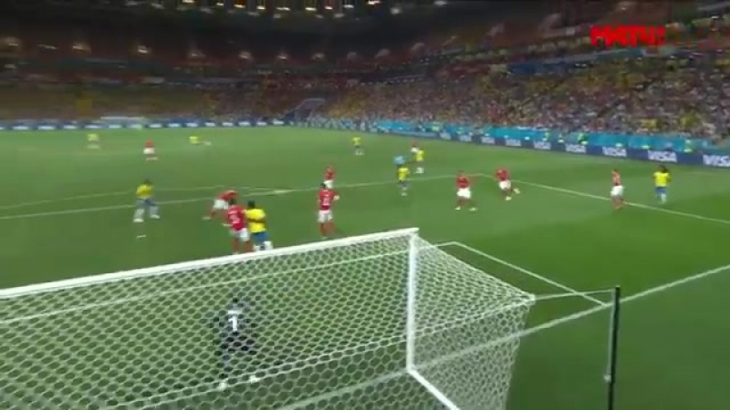Бразилия - Швейцария. 1-0. Гол Коутинью.mp4