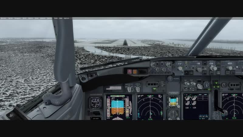Посадка после разгерметизации в ярославле 737 ngx
