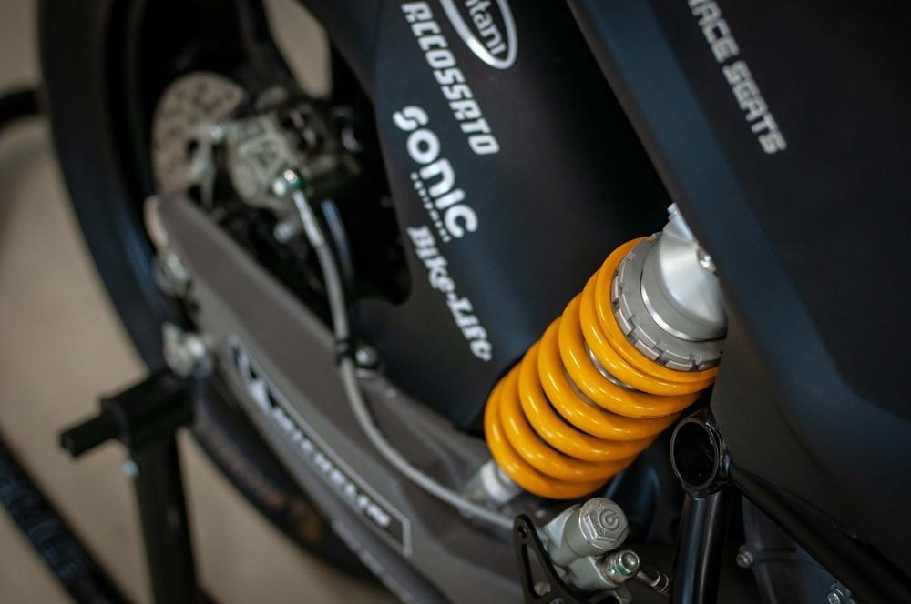 Гоночный электроцикл Energica Ego Corsa 2019