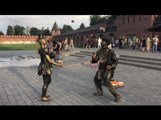 Жонглеры в Кремле «Барселона»