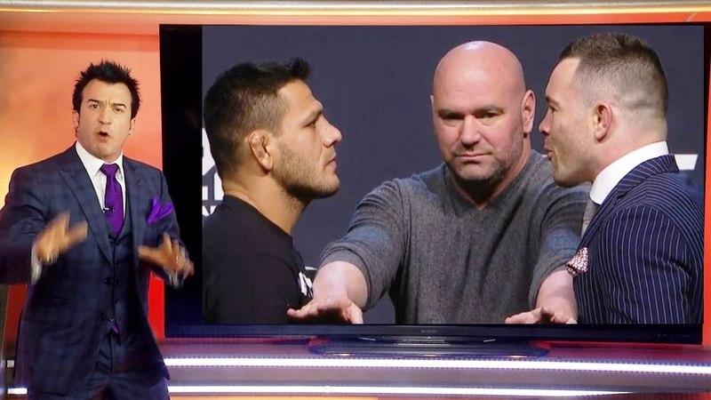РОБИН БЛЭК РАЗБИРАЕТ БОЙ ДОС АНЬОС VS КОЛБИ КОВИНГТОН НА UFC 225 hj,by ,kr hfp,bhftn ,jq ljc fymjc vs rjk,b rjdbyunjy yf ufc 22