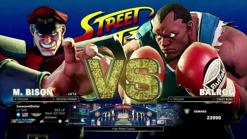 Street Fighter V: Arcade Edition (PlayStation 4) Arcade as M. Bison (SF II)