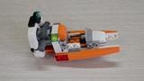 Собираем конструктор Lego Creator Дрон-разведчик для детей, часть 3
